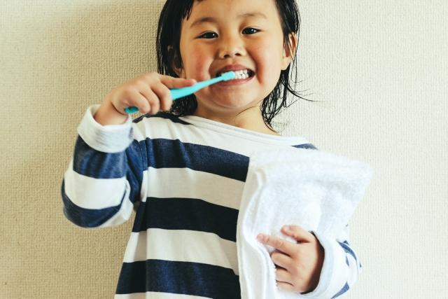 一人で出来る歯磨き指導