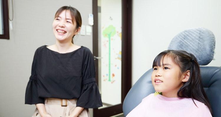 お子様の歯並びの重要性